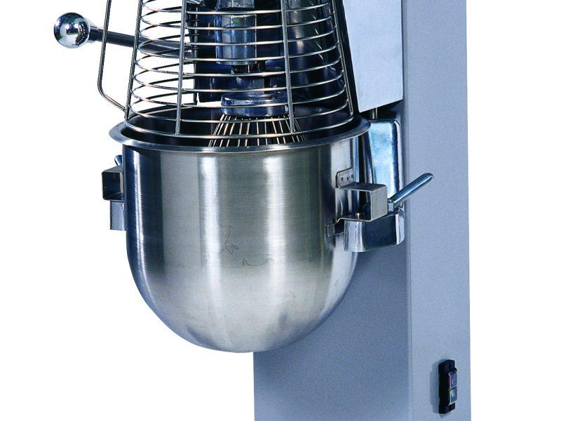 batteur melangeur collectivites BV22 Haut sans logo, cuve fermee, vue trois quart